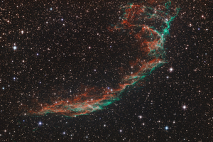 NGC6992 - Fátyol-köd keleti része