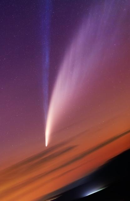 A NEOWISE-üstökös