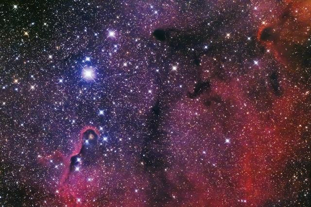 Elefántormány köd - IC 1396A