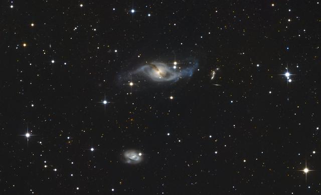 NGC 3718 és NGC 3729