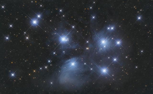 Plejádok - M45 `szabadszemes` megfigyelés.