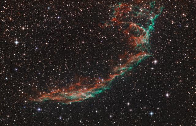 NGC6992 - Fátyol köd keleti része