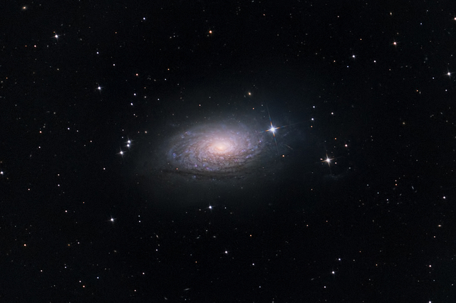 M63 - Napraforgó Galaxis