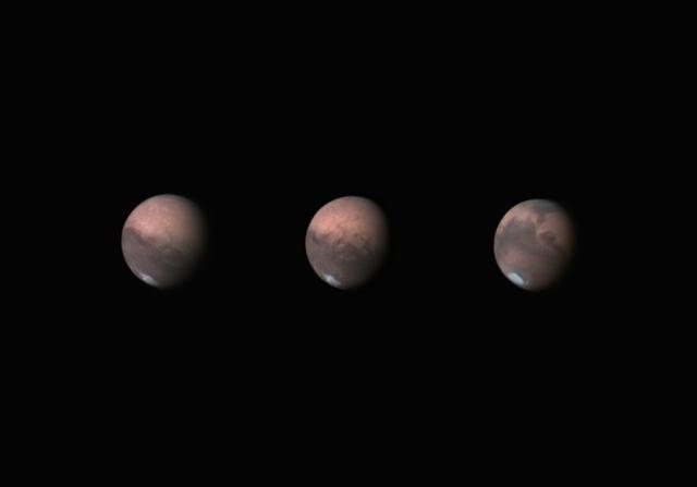 A Mars arcai